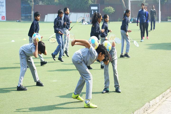 Modern School-Sports Day