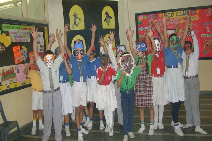 MotherS Global School-Halloween Day Celebration