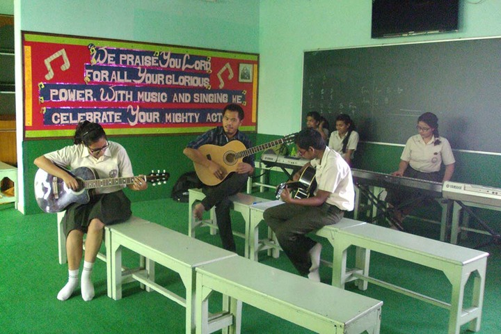 Mount Carmel School-Music Room