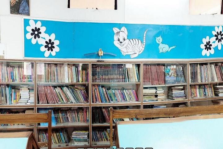 Mount St MaryS School-Junior Library