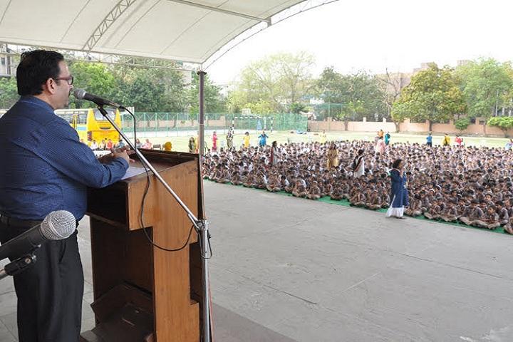 N K Bagrodia Public School-Ambedkar Jayanthi Speech
