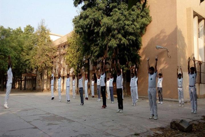 N P Co-Educational Senior Secondary School-Yoga