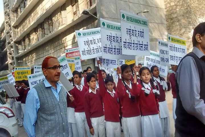 N P Coeducation Senior Secondary School-Rally