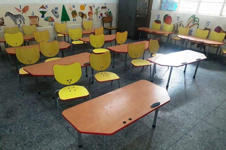 NP Co Education Secondary School-Classroom nursery