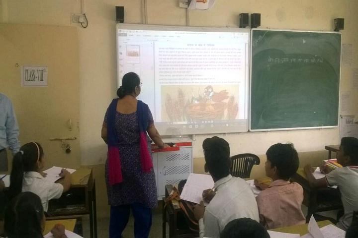 NP Co Education Secondary School-Classroom