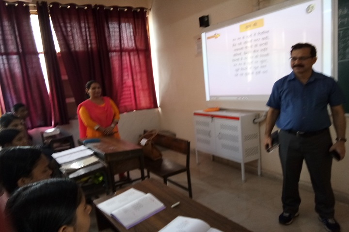 NP Co Ed Secondary School-Classroom smart