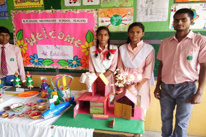 NP Co Ed Secondary School-Others art exhibition