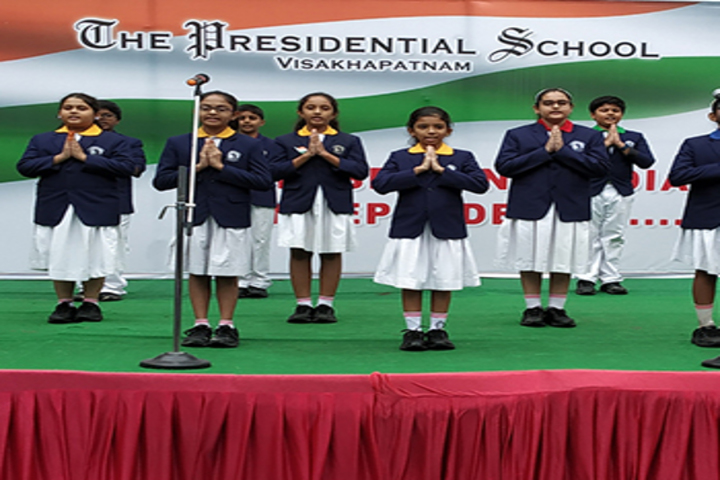 The presidential school- Independence Day Celebrations