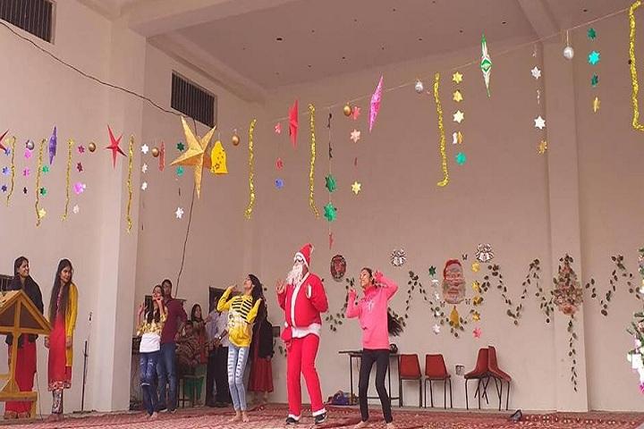 Nav Jeevan Adarsh Public School-Christmas Celebration