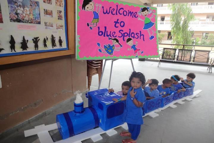 The Sun School-Blue Splash