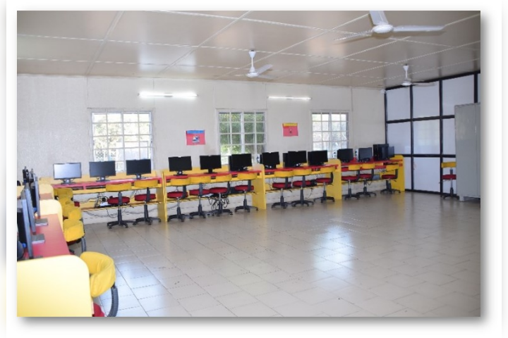 Computer Classes in the School