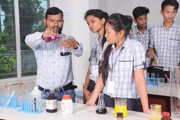 The Vizag International School- Chemistry Lab