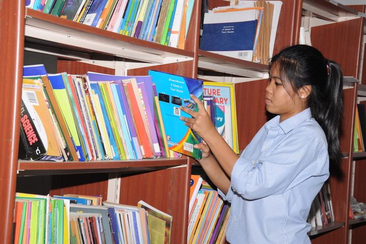 The Vizag International School- Library