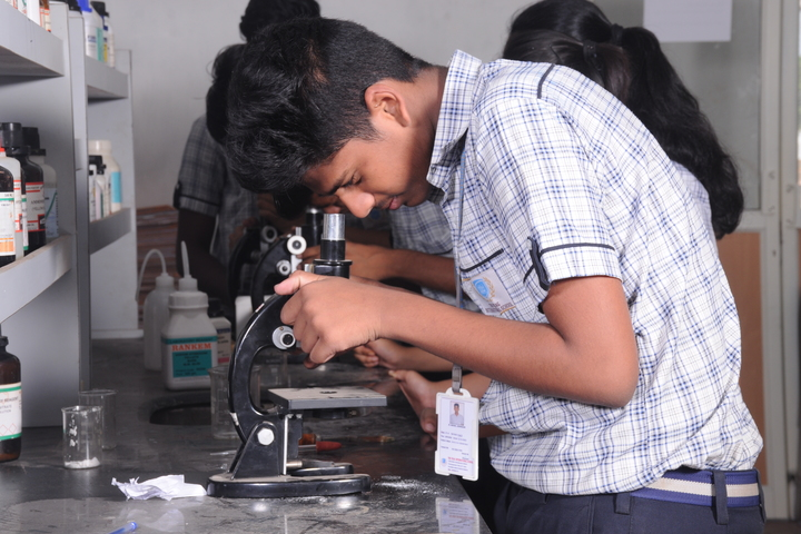 The Vizag International School- Science Lab