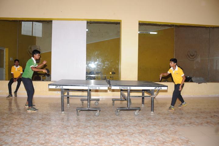 The Vizag International School- Table Tennis