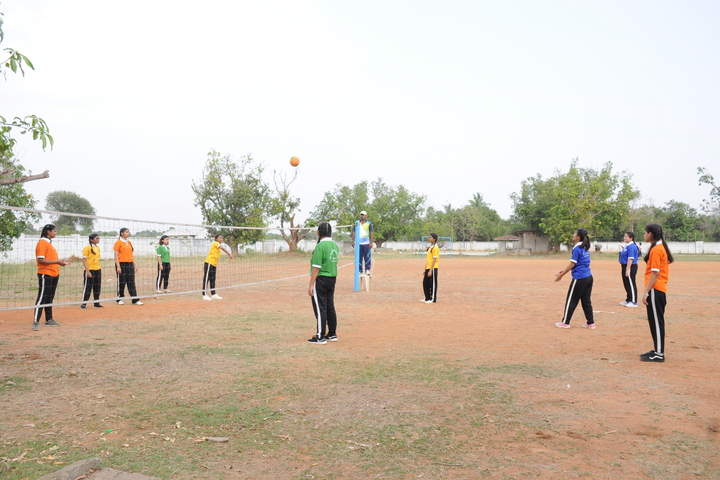 The Vizag International School- Volley Ball