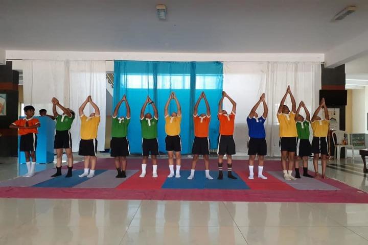 The Vizag International School- Yoga