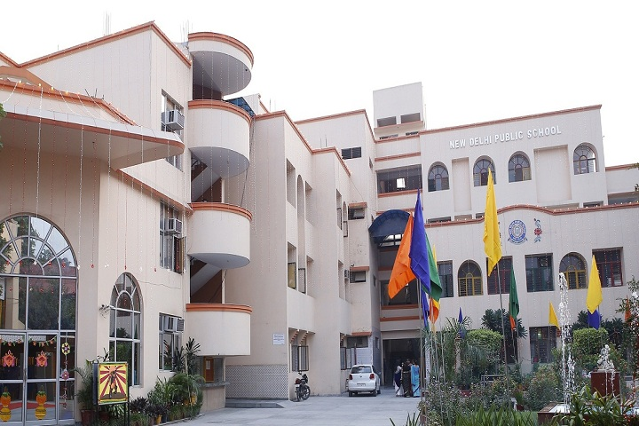 New Delhi Public School-Campus-View