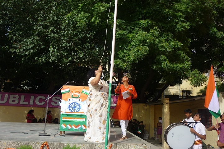 New Delhi Public School-Independence-Day