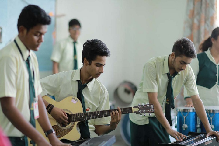 New Green Field School-Music-Room