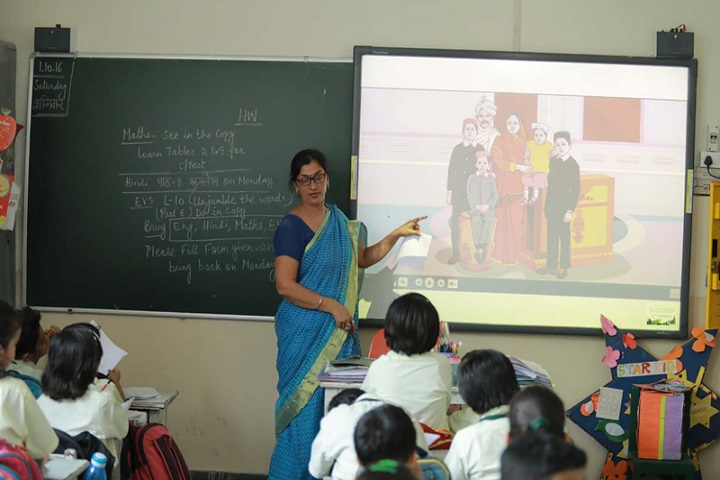 New Green Field School-Smart-Class