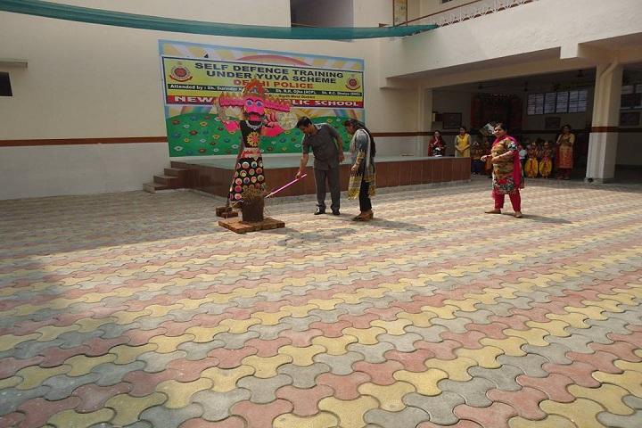 New Holy Public School-Self Defence Training Under Yuva Scheme