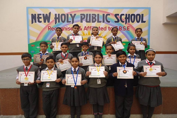 New Holy Public School-Winners of Annual Athletic Meet