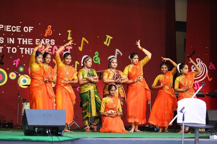 Timpany Senior Secondrary School-Classical dance