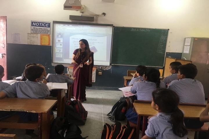 North Delhi Public School-Digital classrooms