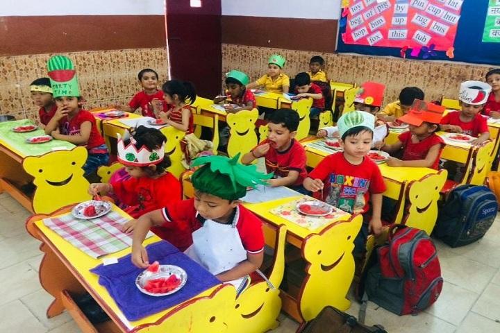 North Delhi Public School-Kids classroom