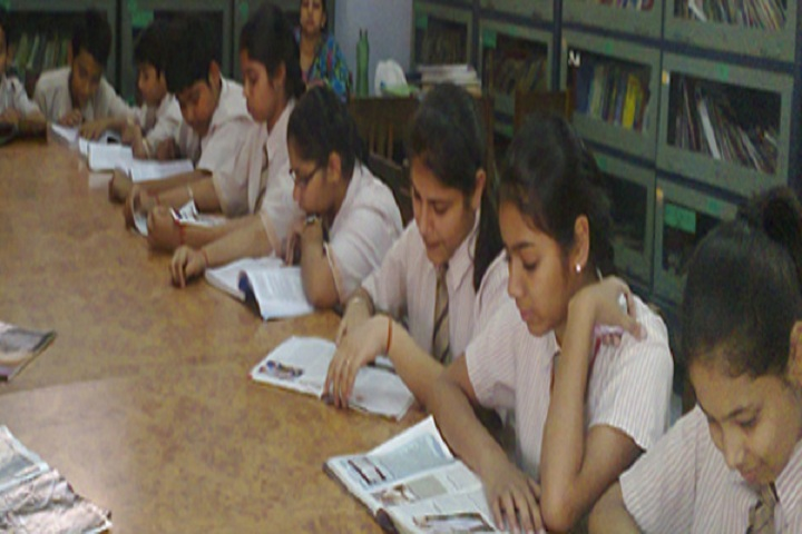 North Delhi Public School-Library
