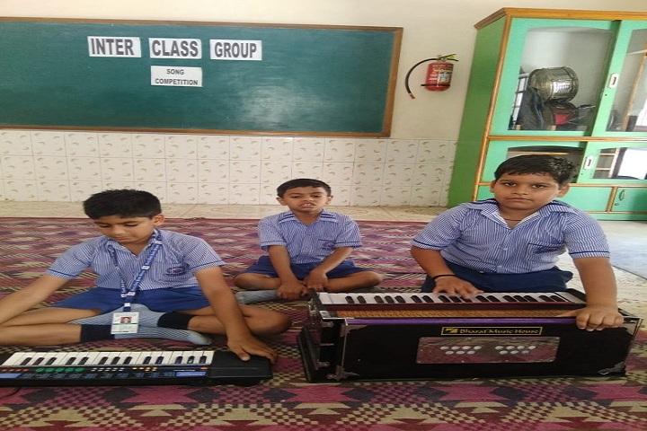 North Delhi Public School-Music class