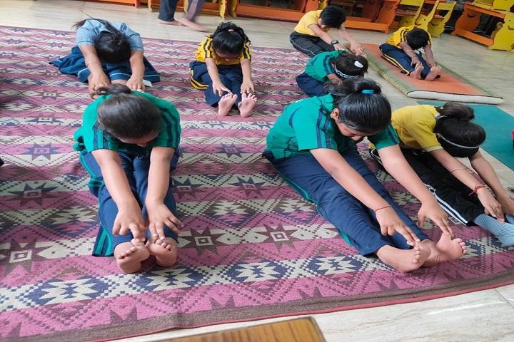 North Delhi Public School-Yoga