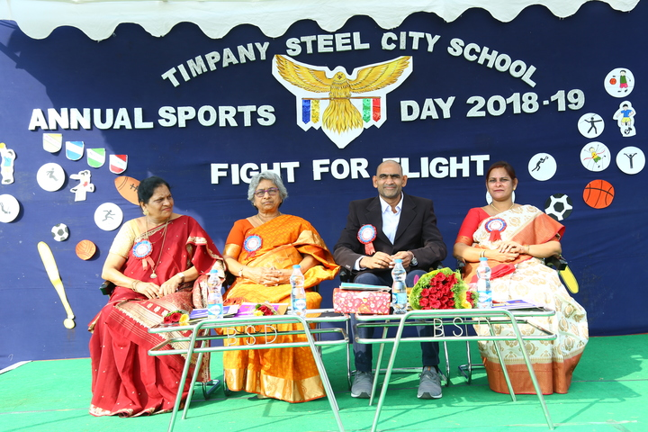 Timpany Steel City School-Sports Meet