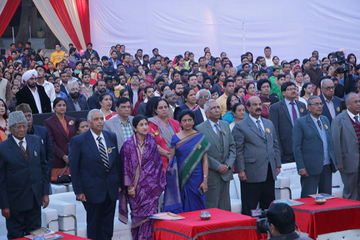 P G D A V Sr Sec School-Annual function