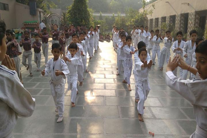 P G D A V Sr Sec School-Karate class