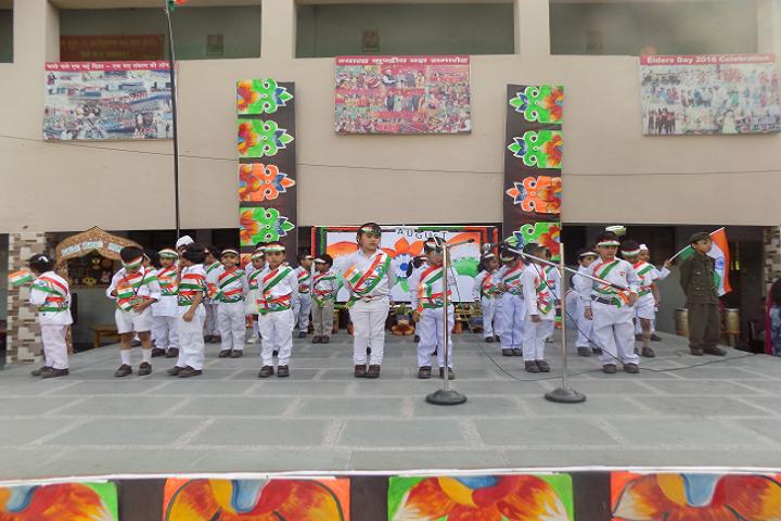 P G D A V Sr Sec School-National day celebration