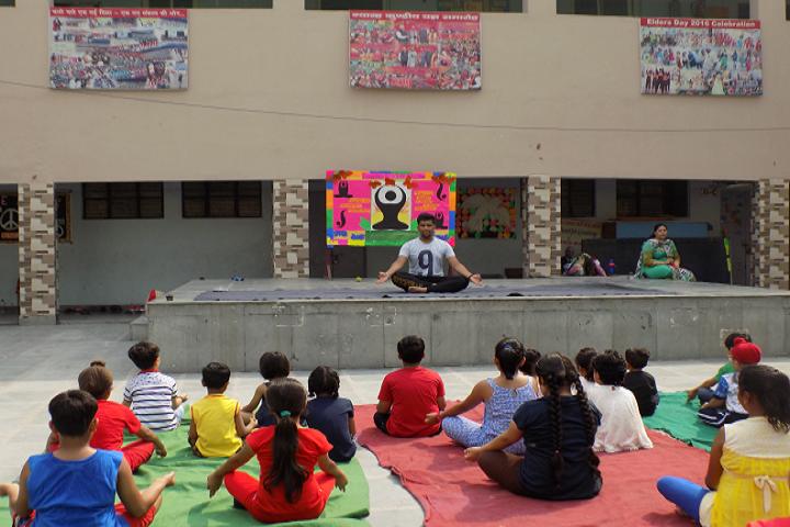 P G D A V Sr Sec School-Yoga