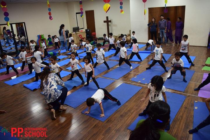 PP International school-Yoga