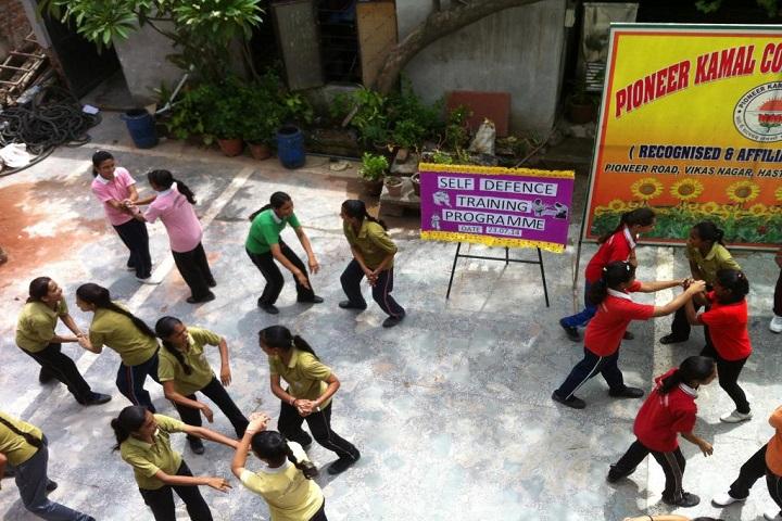 Pioneer Kamal Convent School-Self-Defence-Training