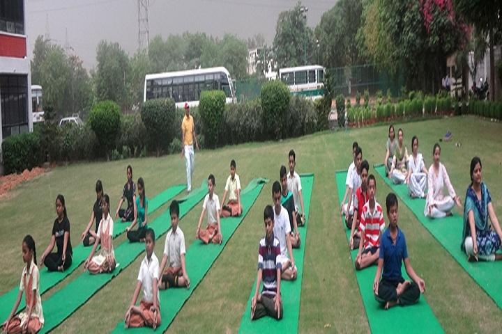 Poorna Prajna Public School-Yoga Classes