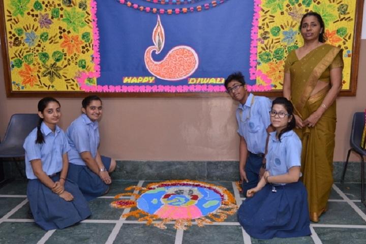Prabhu Dayal Public School-Diwali Celebrations