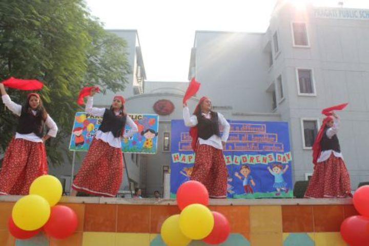 Pragati Public School-Dance
