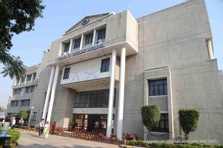 Pragati Public School - School Building