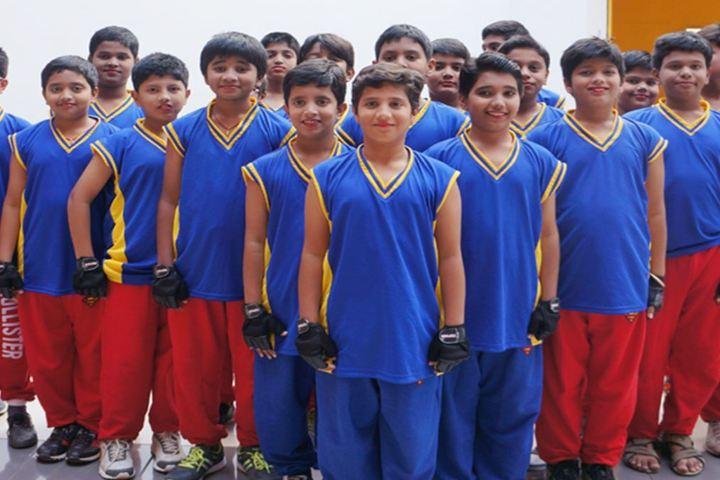 Tripura English Medium School-School Students