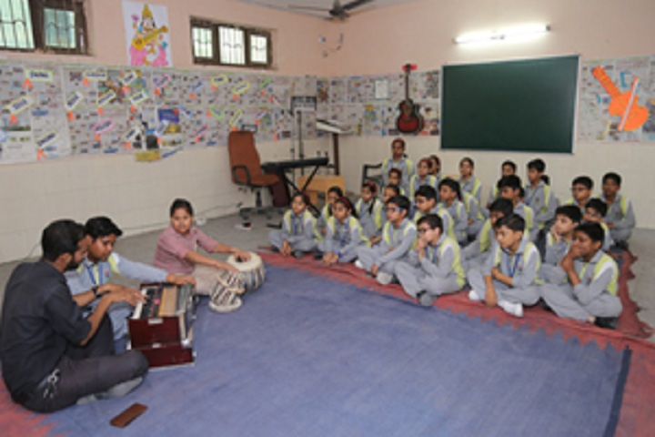 Prince Public School-Music Room