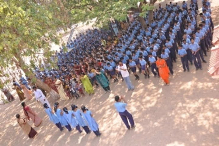 Ushodaya English Medium School-Assembly