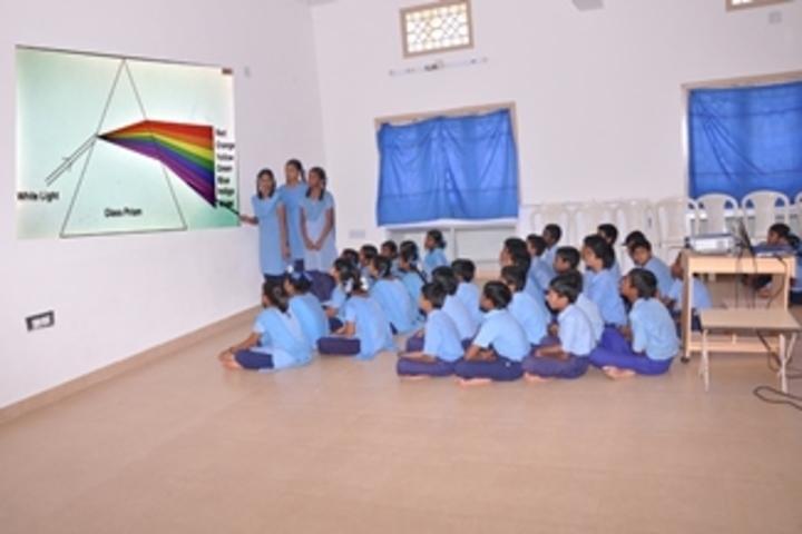 Ushodaya English Medium School-Audio Visual room
