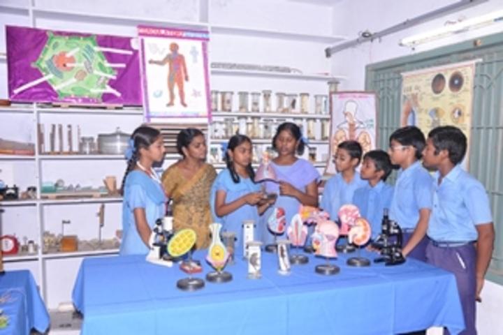 Ushodaya English Medium School-Biology Lab