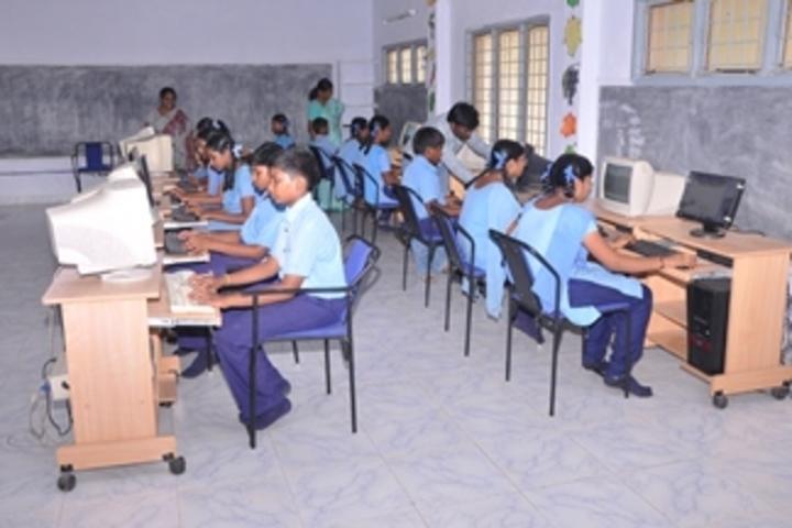 Ushodaya English Medium School-Computer lab